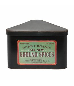 "Gewürzdose Landhaus ""Ground Spices"""