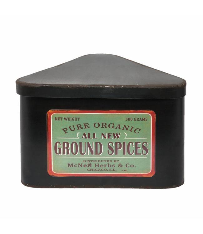 """Gewürzdose Landhaus """"Ground Spices"""""""