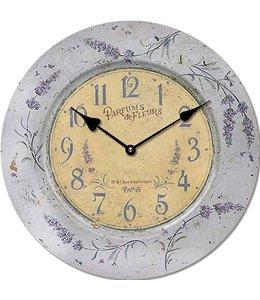 """Wanduhr Vintage """"Lavendel der Provence"""""""