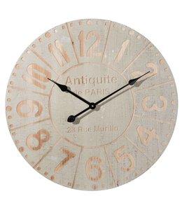 """Wanduhr Vintage """"Antiquité de Paris"""" Ø 61"""