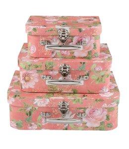 Aufbewahrungsboxen Rosen 3er Set