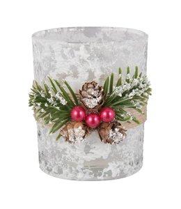 Clayre & Eef  Teelichterhalter Weihnachten