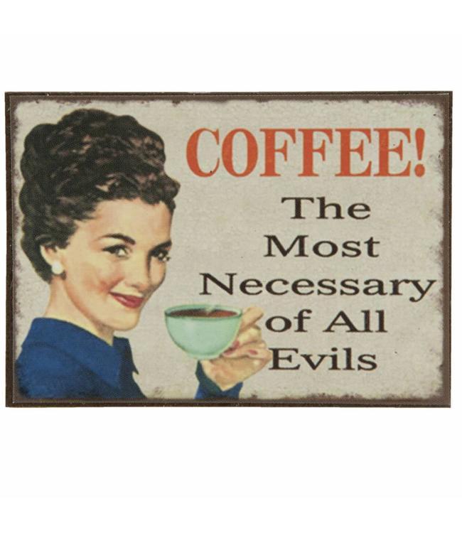 Kühlschrankmagnet Coffee