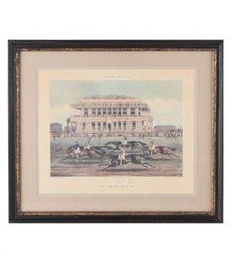 """Bilder Vintage Wandbild Landhaus """"British Horse Racing"""" 57x49"""
