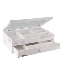 Allzweck-Aufbewahrungskasten mit Schublade