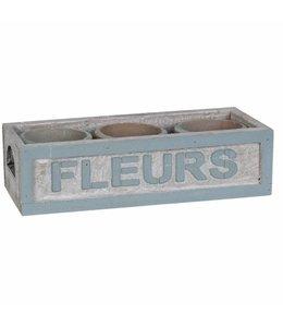 Blumentopf-Set Terrakotta