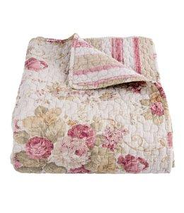 """Tagesdecken Vintage Tagesdecke """"Rosen"""" stonewashed (2 Größen)"""