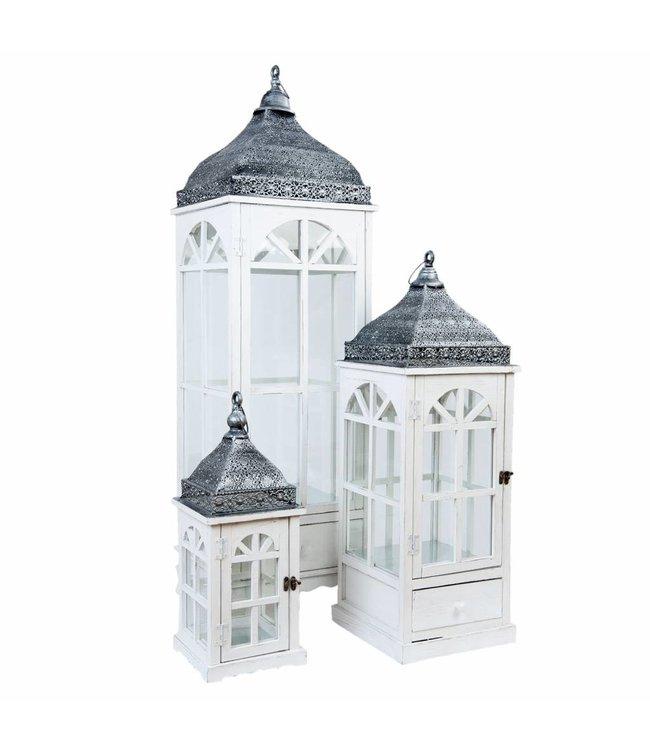 Laternen Landhaus 3er-Set