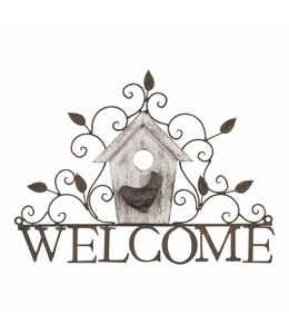 "Dekoschild ""Welcome"" Vintage"