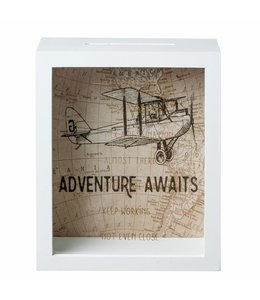"Spardose ""Adventure Awaits"""