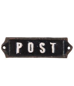 """Deko-Schild """"Post"""" Vintage"""