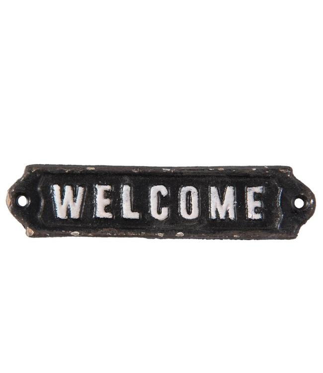 """Dekoschild """"Welcome"""" Vintage"""