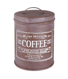 "Vorratsdosen Vintage Kaffee-Vorratsdose Landhaus ""Coffee"""