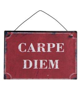 """Schild """"Carpe Diem"""""""