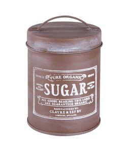 "Vorratsdosen Vintage Zucker Vorratsdose ""Sugar"""
