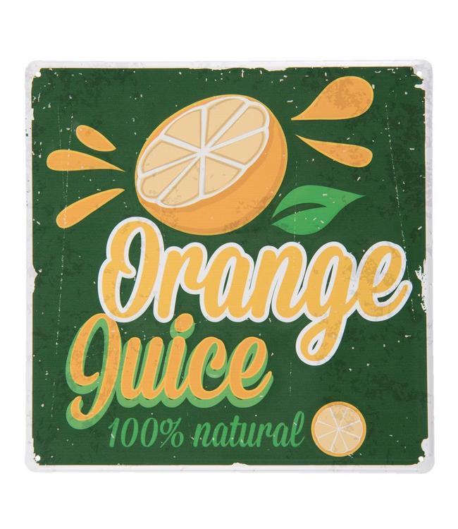 "Dekoschild ""Orange Juice"" Vintage"