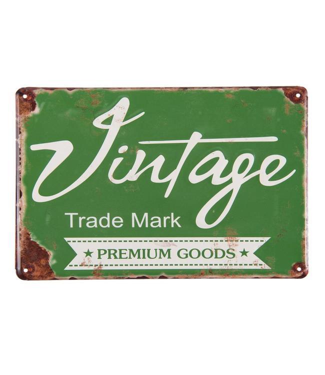 """Dekoschild """"Trade Mark"""" Vintage"""