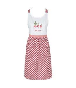 """Küchenschürze für Damen """"Radieschen"""" Vintage"""