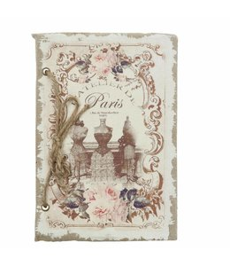 "Clayre & Eef Notizbuch ""Paris"""