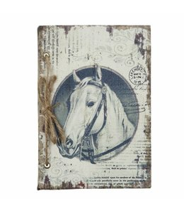 """Notizbuch """"Pferd"""" Vintage"""