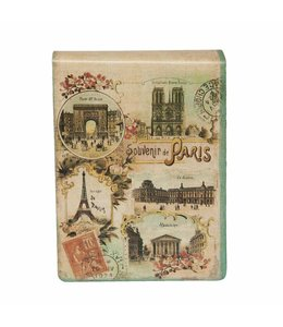 """Notizbücher Vintage Notizbuch """"Souvenir de Paris"""""""