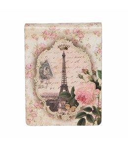 """Notizbücher Vintage Notizbuch """"Die Rosen von Paris"""""""