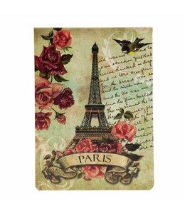 """Notizbuch """"Die Rosen von Paris"""" Vintage"""