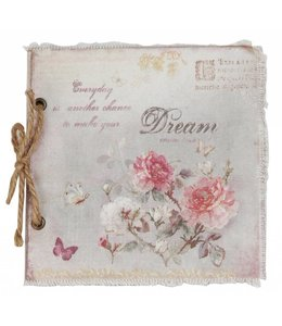 "Clayre & Eef Notizbuch ""Dream"""