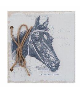"""Notizbuch """"Schwarzes Pferd"""""""