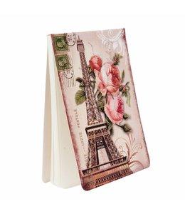 """Notizbuch """"Französische Rosen"""" Vintage"""