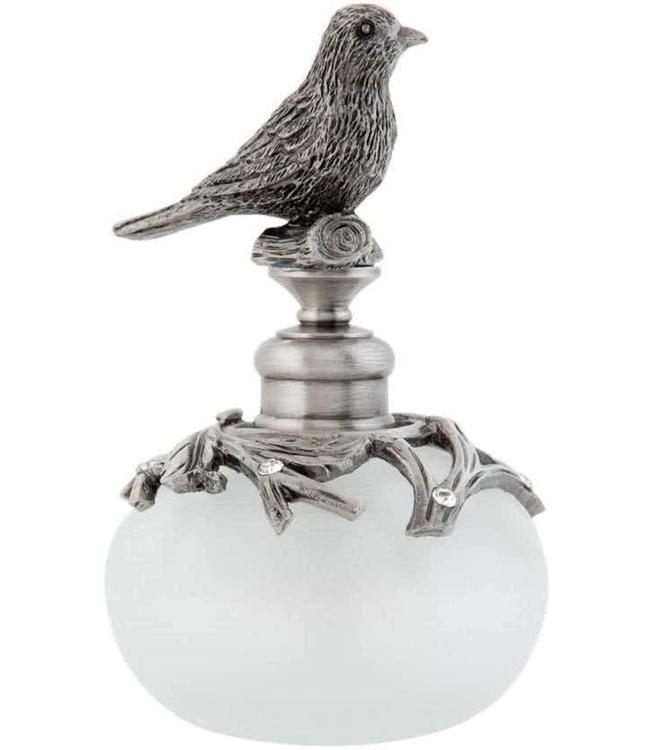 "Deko-Parfumflasche ""Vogel"" Vintage"