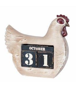 """Kalender Vintage Kalender """"Huhn"""""""