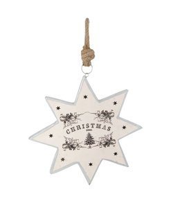 "Großer Dekohänger Stern ""Christmas"""