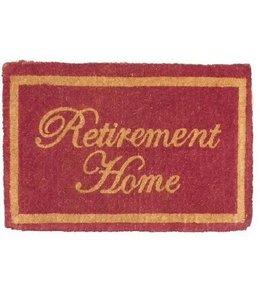 "Fußabtreter Landhaus""Retirement Home"" Kokos"