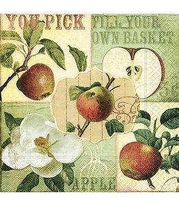 """Servietten Vintage Servietten """"Apfel"""""""