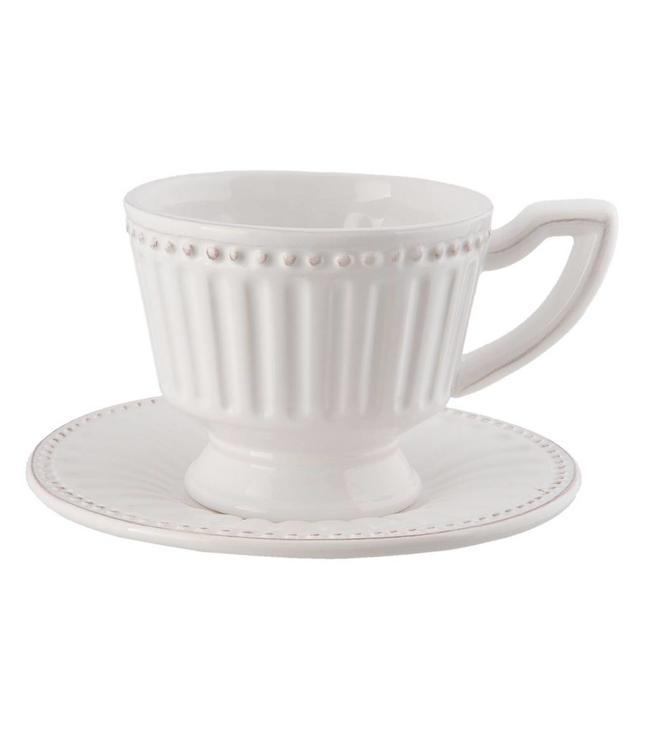 """Kaffeetasse mit Untertasse """"Elegant Country"""""""