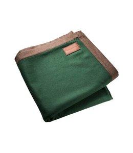 Wolldecken Vintage Lodendecke grün
