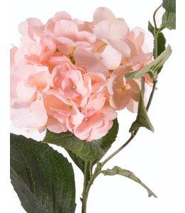 """Kunstblume Hortensie 78 cm """"Spring Dream"""" Lachs"""