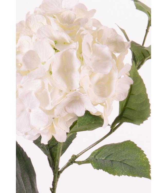 """Kunstblume Hortensie 78 cm """"Spring Dream"""" Weiß"""