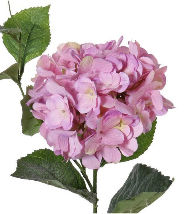 """Kunstblume Hortensie 78 cm """"Spring Dream"""" Lila"""
