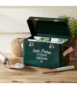 Burgon & Ball Pflanzensamen-Box, grün