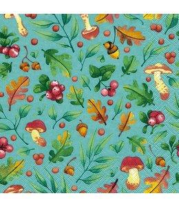 """Servietten Vintage Servietten """"Herbstfarben"""""""