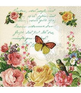 """Servietten Vintage Servietten """"Schmetterling"""""""