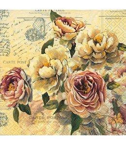 "Paper+Design Servietten ""Vintage Roses"""