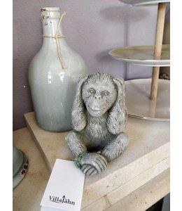 "Steinfigur Affe ""Nichts hören"""