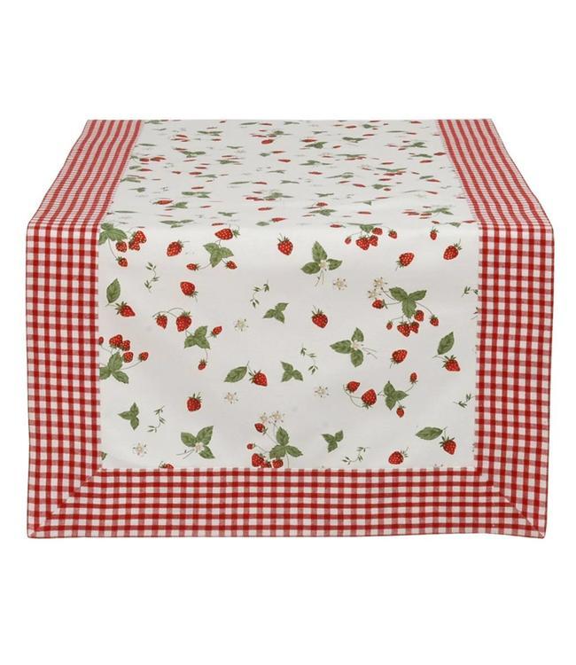 """Tischläufer """"Erdbeeren"""" 50x140"""