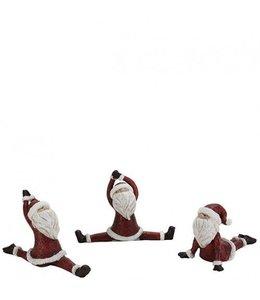 Sportlicher Weihnachtsmann (3 Motive)