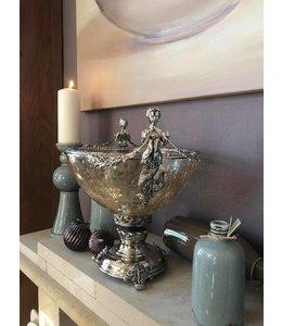 Schale Aphrodite, Silber, Moderner Landhausstil