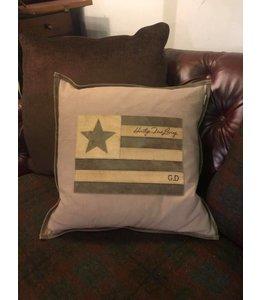 Dekokissen US Star, 50x50, Amerikanischer Landhausstil