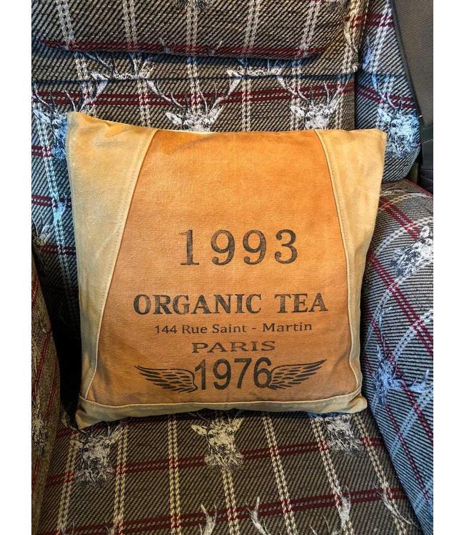 """Dekokissen Landhaus """"Organic Tea"""" 45x45"""